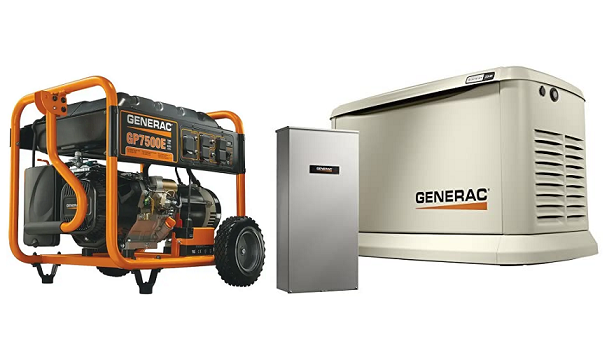 best batteries for generac generator